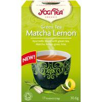 Yogi Tea Green Tea Matcha Lemon 17 Tepåsar