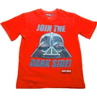 ANGRY BIRDS STAR WARS, t-shirt röd