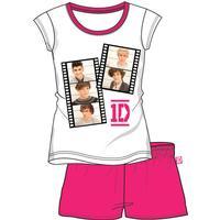 One Direction - 1D ONE DIRECTION shortsset / sommarpyjamas