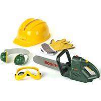 Klein Bosch Chainsaw, Helmet & Work Gloves 8525