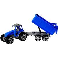 Plasto Tractor with Trailer