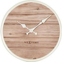 Nextime Plank 30cm Väggklocka