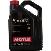 Motul Motor Oil Specific 0720 5W-30