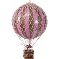 Authentic Models Luftballon rosa / guld 8,5cm