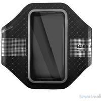 BASEUS ultra tyndt løbearmbånd m/refleks til iPhone 7/6S/6  Sort