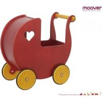 mykids Moover Dockvagn Röd med Namn (vit)