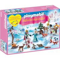 Playmobil Julekalender Royalt Skøjteløb 9008