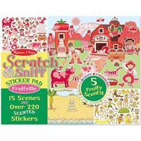 Melissa & Doug Scratch & Sniff Sticker Pad Fruitville