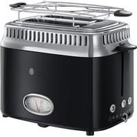 Russell Hobbs Retro Classic Noir 2 Slice Toaster
