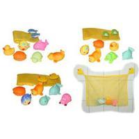 Bieco Bathtub Set with 6 Floats
