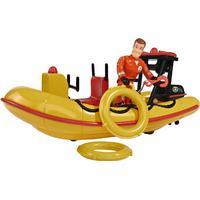 Simba Sam Neptune Boat with Figurine