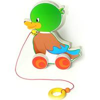 Hess Wooden Baby Pull Duck Toy