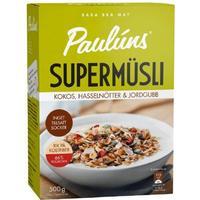 Paulúns Supermüsli Kokos Hasselnöt & Jordgubb