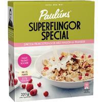 Paulúns Superflingor Special Hallon & Tranbär