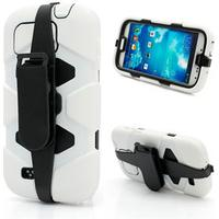 Samsung Galaxy S4 inCover Super Defender Cover - Hvid