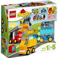 Lego Duplo Mina Första Bilar och Lastbilar10816