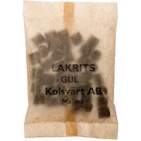 Kolsvart Lakrits Söt+Citronskal