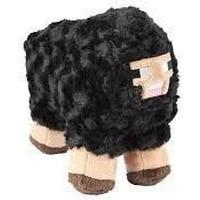 Jinx Minecraft Black Sheep Plush 25 cm