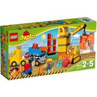Lego Duplo Town Stor Byggarbetsplats 10813