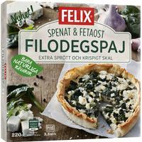 Felix Filodegspaj Spenat & Fetaost