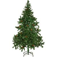 vidaXL Christmas Tree With Pine Cones Julgran