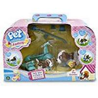 Giochi Preziosi Pet Parade Family Electronic Toy - Dog and Puppy Scooter Playset