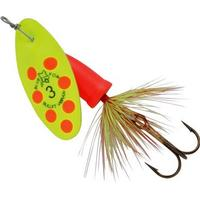 Blue Fox Vibrax Bullet Fly 3 Chartreuse Fluo Red CHFR