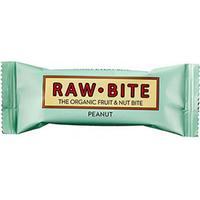 RawBite Frukt & Nötbar Jordnöt EKO