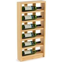 Traditional Wine Rack Scallops Vinställ 790x400 mm
