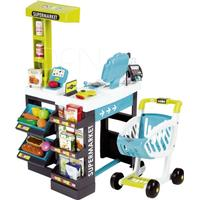 Smoby Supermarket with shopping cart Turquoise