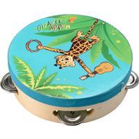 Beluga Giraffe Monkey Tambourine