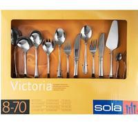 SOLA Komplet bestiksæt til 8 personer (victoria 70 dele)
