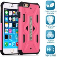 BENWIS Cool Armor TPU cover til iPhone 6/6S PLUS  Pink