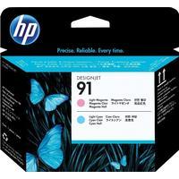 HP 91 printhead / skrivhuvud ljus magenta + ljus cyan Original HP C9462A