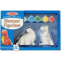 Melissa & Doug Decorate Your Own Dinosaur Figurines