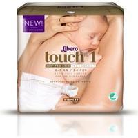 Libero Touch 1, 2-5kg, 24 pcs