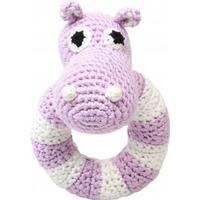 NatureZoo Lady Hippo Ring Rattle