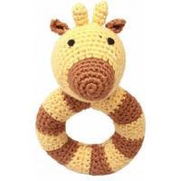 NatureZoo Mr. Giraffe Ring Rattle