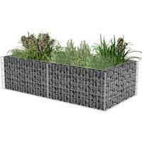 vidaXL Gabion Planter 180cm