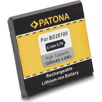 eQuipIT Batteri HTC Desire HD BA-S470 1300mAh