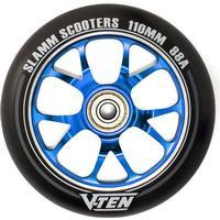 Slamm V-Ten II 110mm Sparkcykel Hjul Komplett (110mm - Blå)