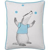 Bloomingville Juggling Badger Pillow