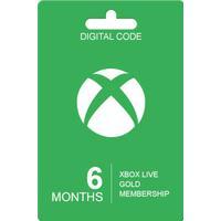 Microsoft Xbox Live Guldkort - 6 Måneder