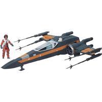 "Hasbro Star Wars the Force Awakens 3.75"" Vehicle Poe Dameron's X-Wing B3953"