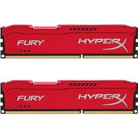HyperX Fury Red DDR3 1866MHz 2x8GB (HX318C10FRK2/16)