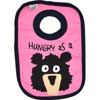 Lazyone Hungry as a Bear Girl Bib