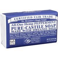 Dr. Bronners Pure Castile Bar Soap Peppermint 140g