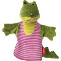 Sigikid Sweaty Crocodile Hand Puppet