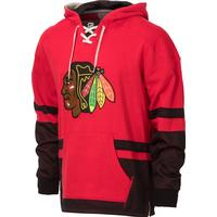 CCM Chicago Blackhawks Retro Pullover Lace Hoodie
