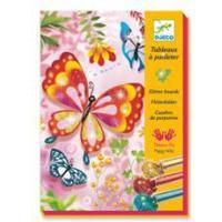 Djeco Hanging Butterflies Glitter